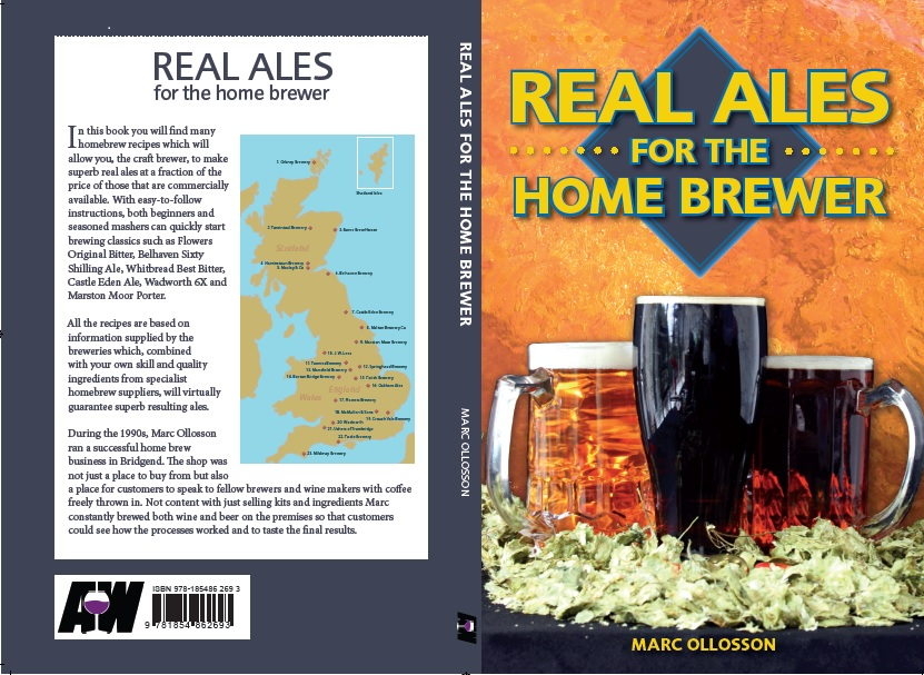 Real Ales for the Home Brewer - Marc Ollosson